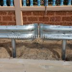 guardrail ความสูงมาตรฐานกรมทางหลวง จำนวน 416 แผ่น ติดตั้งที่จังหวัดชลบุรี