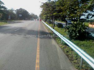 w-beam guardrails ทางหลวงหมายเลข 4 ตอนควบคุม 0401, 0402 ตอน ห้วยชินสีห์ - ปากท่อ – สระพัง แขวงทางหลวงสมุทรสงคราม