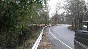 การติดตั้ง guardrail แขวงทางหลวงลำพูน ลี้ - ก้อทุ่ง ลี้ - พระบาทตะเมาะ แม่เทย - ทุ่งหัวช้าง